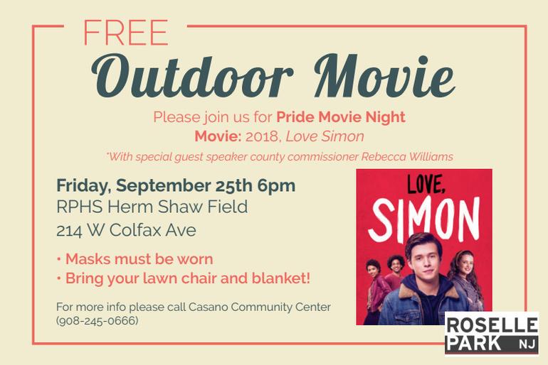 Pride Movie Night Flyer