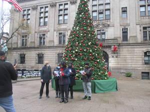 Carolers Bring Music to Joy of Christmas