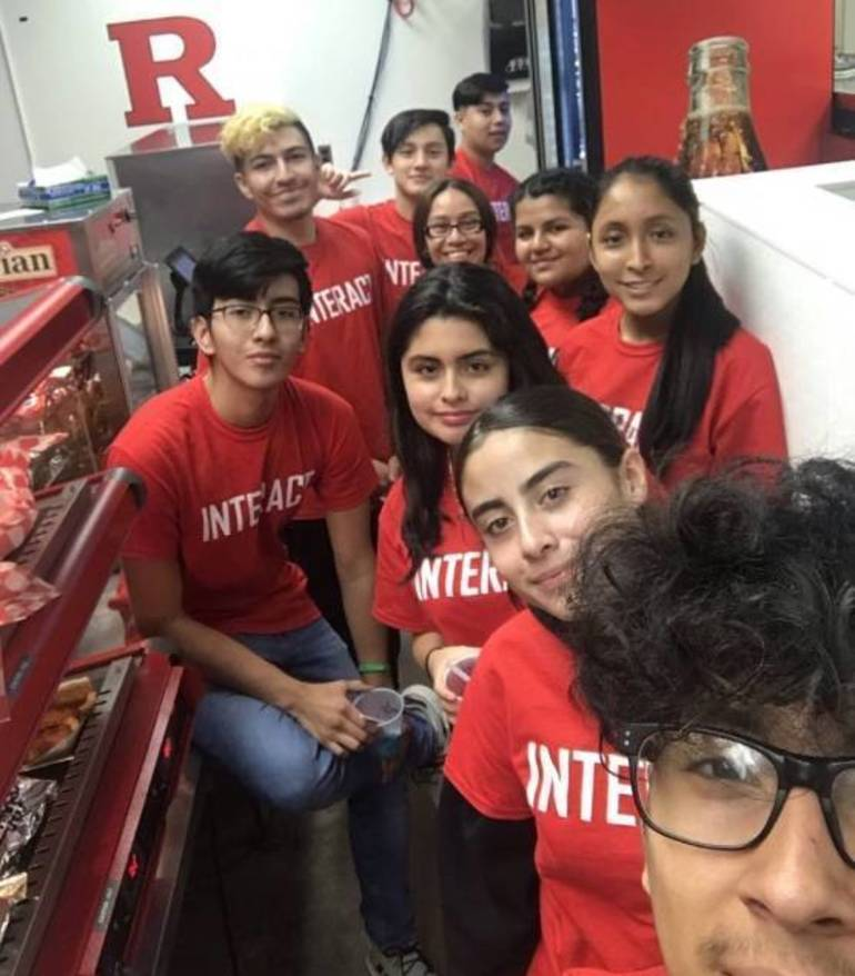 North Plainfield Interact Club Works Rutgers Concessions