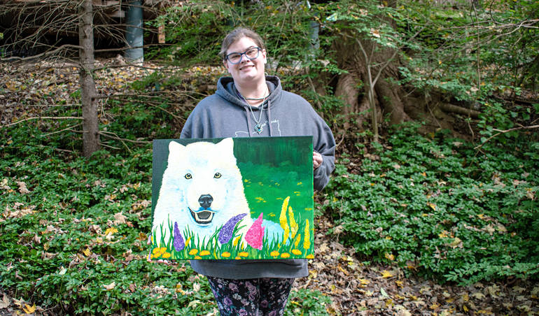 Atka Remembered at Wolf Conservation Center