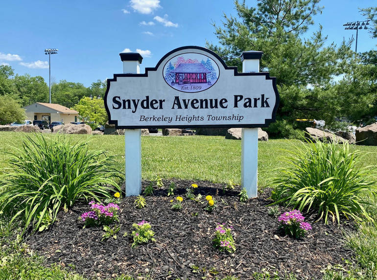 Residents and businesses 'adopt' Welcome and Park signs: Volunteers add charm to Berkeley Heights through plantings