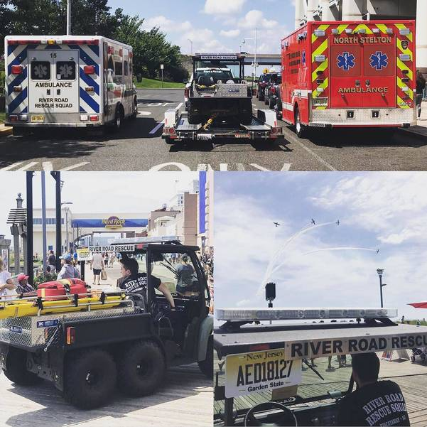 Atlantic City Airshow - North Stelton Rescue and River Road Rsscue