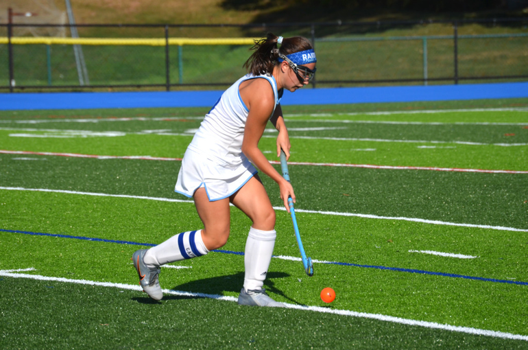 Alie Serio (6) notched an assist on Erin Lay's goal for Scotch Plains-Fanwood on Saturday.