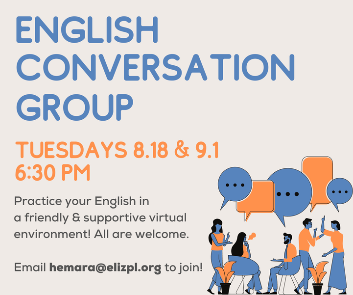 English conversations groups
