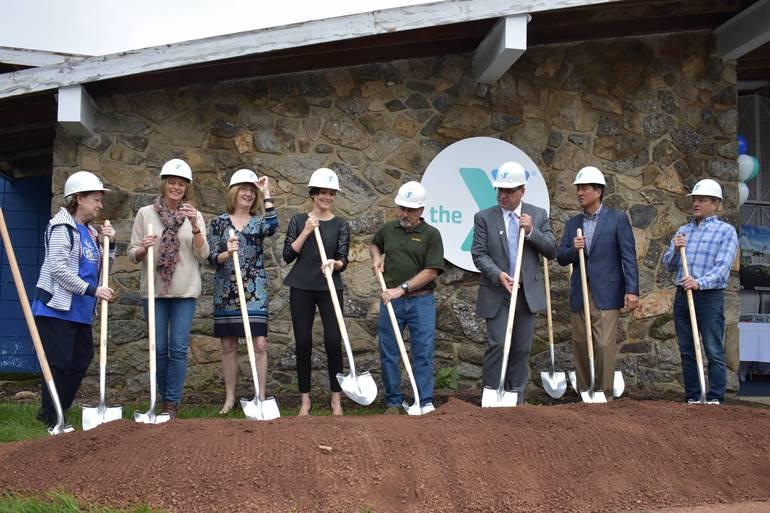 BH YMCA Groundbreaking, Oct. 6, 2018.