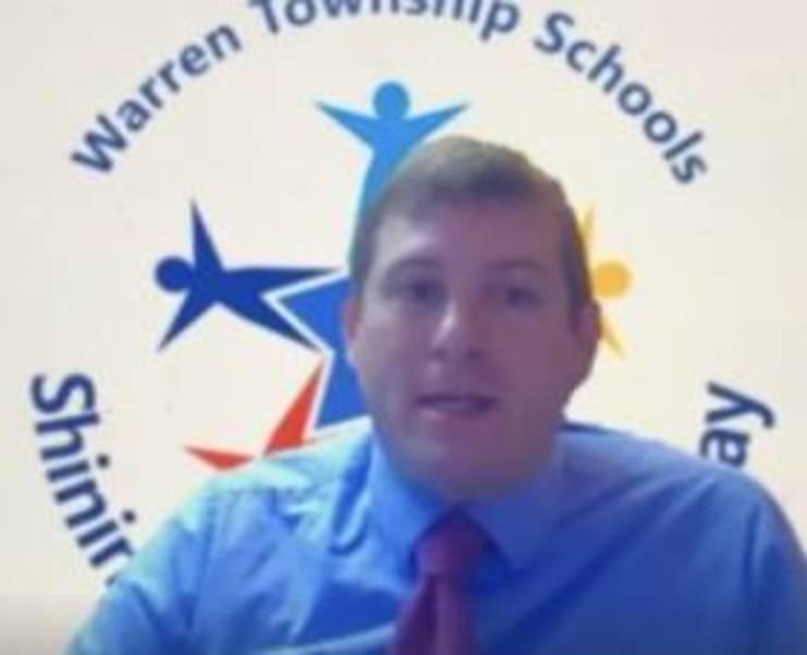 Warren Township Board of Education President Christian Bellman read a resolution thanking Chu for her service. 6E046652-5A55-4A8A-9B2C-D2A9143118EC.jpeg