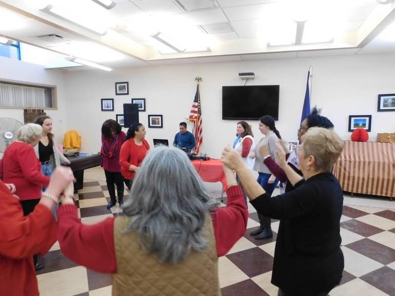 Yorktown Rotary Club Holds Valentine's Day Luncheon