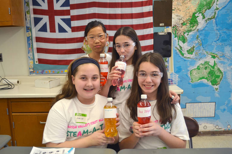Photos: All Girls STEAM-a-Thon at Lakeland Copper Beech Middle School