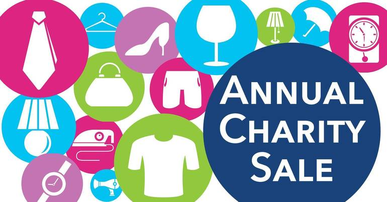 Annual Charity Sale