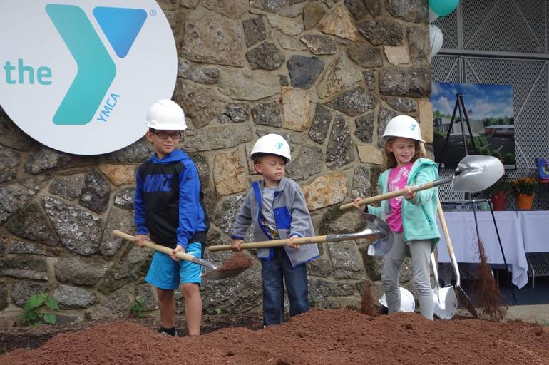 BH YMCA Groundbreaking, Oct. 6, 2018.