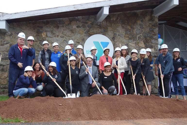 Ground Breaking at Berkeley Heights YMCA Marks Beginning of a New Era