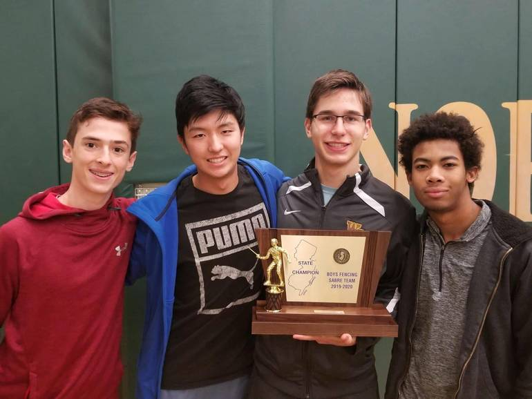 WHRHS Fencing: Watchung Hills Boys Sabre Wins States, Girls Epee Takes 2nd 77F8DD99-BC26-4A46-91E6-E8EBD9F4A657.jpeg