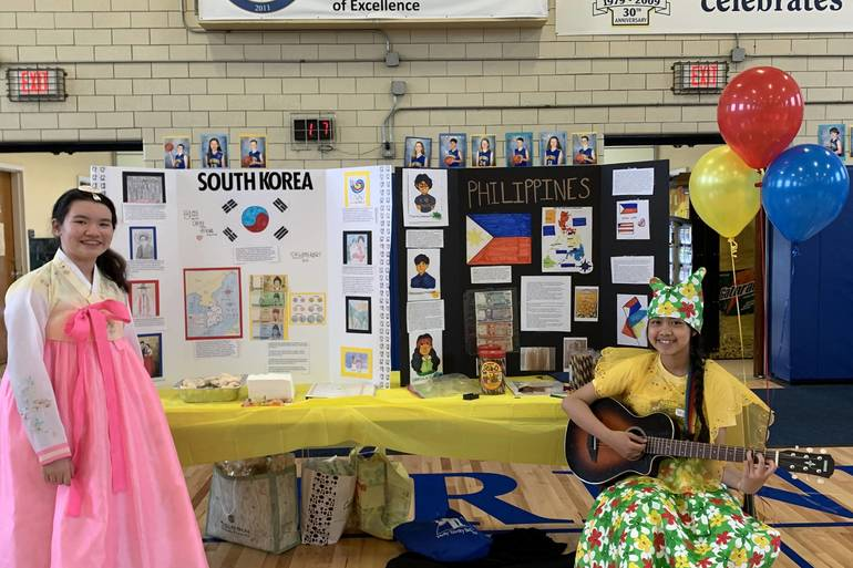Holy Trinity School Holds Annual Heritage Festival Tapinto