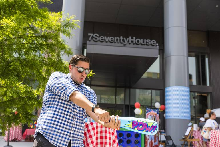Hoboken's 7 Seventy House Kicks Off Summer With Fun-Filled Carnival Event