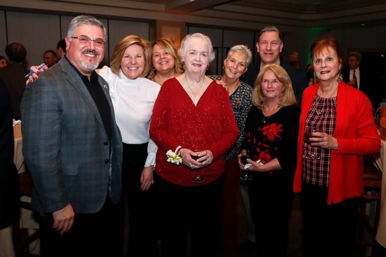 Scenes from Fanwood Borough Admin Eleanor McGovern's retirement party.