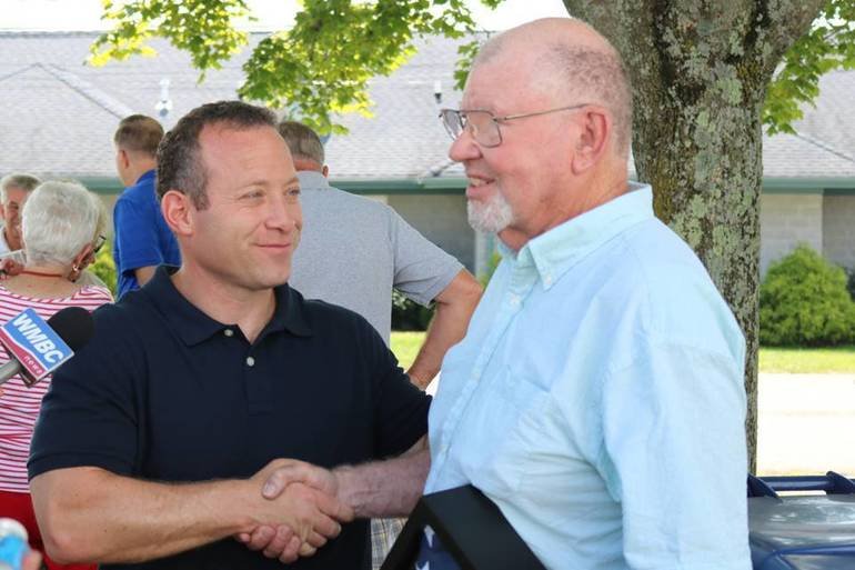 Gottheimer Salutes Sussex County Senior of the Year, Local Veteran Roy McQueen