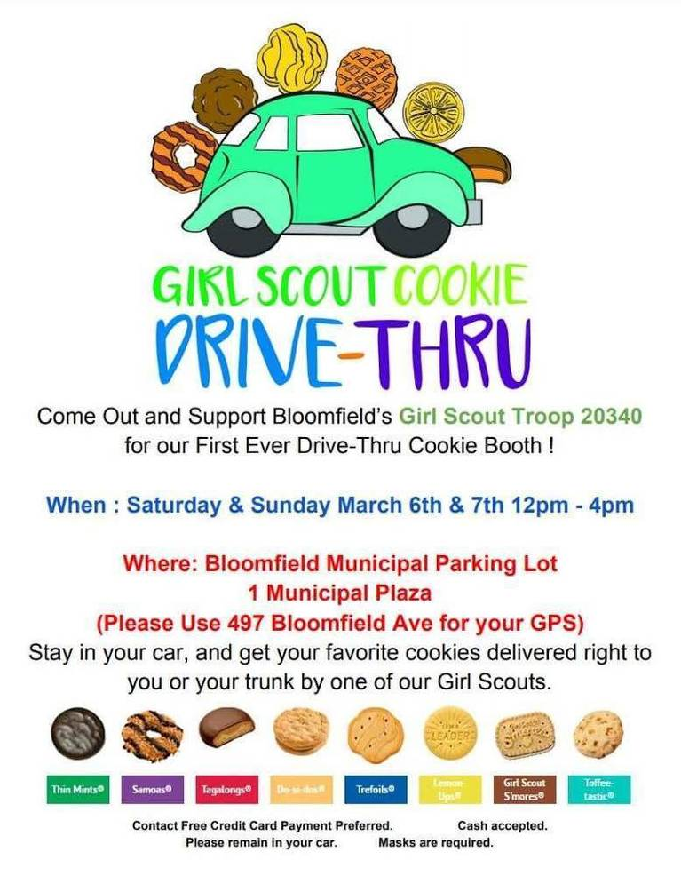 Hungry For Cookies? Head to the Girl Scout Troop 20340 Drive-Thru Cookie Booth
