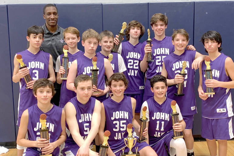 Youth Basketball: John Jay Statesmen  Win Tri-County Title