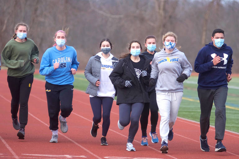 Mahopac 'Indoor' Track Team Takes Season Outside