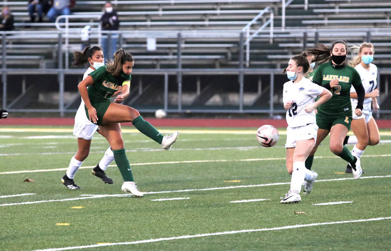 Girls Soccer: Gerbasi Leads Lakeland to Final Victory