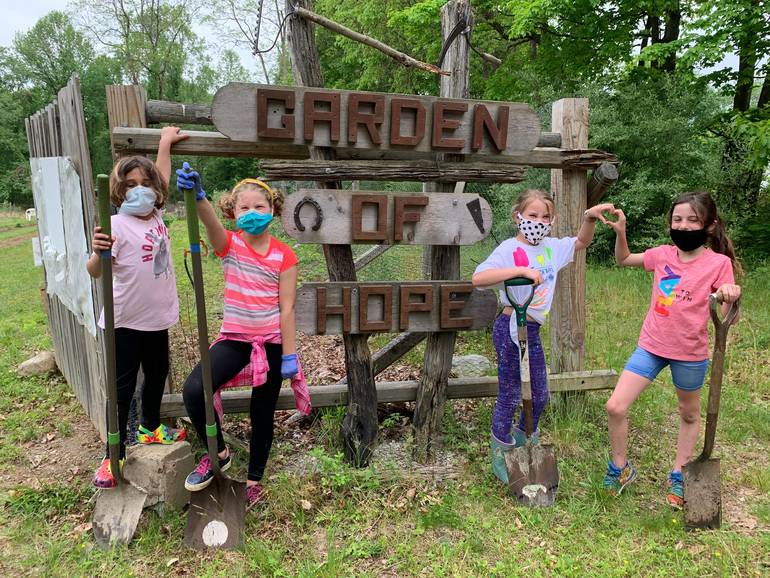 Garden of Hope Set to Move to Yorktown's Willow Park