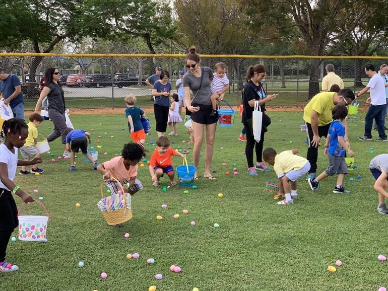 Parkland's Egg Hunt