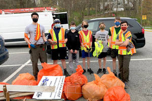 Volunteers Take out the Trash in Lewisboro