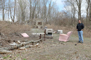 Town Looks to Clean Up Illegal Dump Site