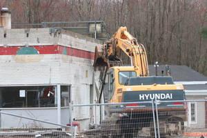 Shrub Oak Gas Station Demolished