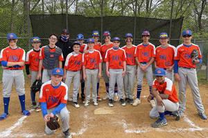 Baseball: Springfield FMG Middle School Team Tops Watchung, 14-4