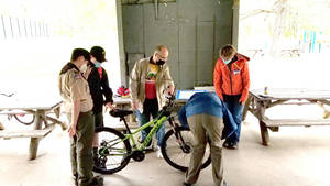 Goldens Bridge BSA Troop 154 Holds Bicycle Safety and Charity Event