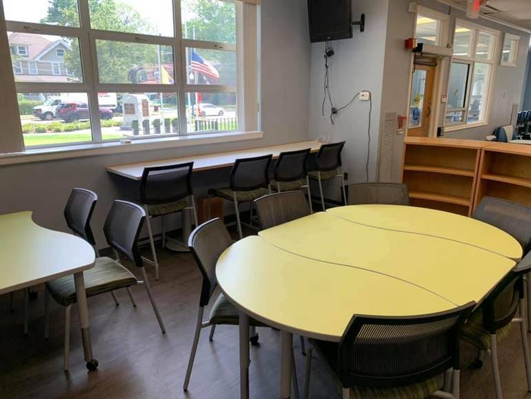 Teen Area of Roselle Park Library