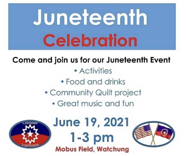 Watchung To Hold Juneteenth Celebration