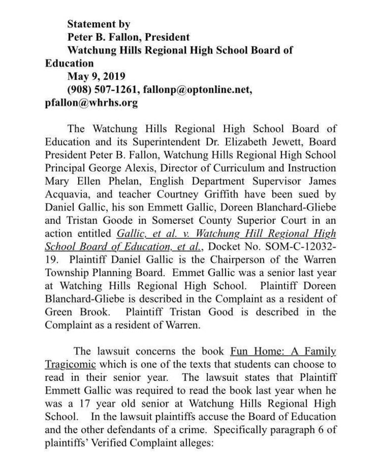 Fun Home Lawsuit: Watchung Hills Sued Over Fun Home8C063B40-6E12-4D29-BACA-D49557013A51.jpeg