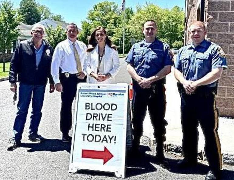 Warren Township Police Host Community Blood Drive to Save Lives