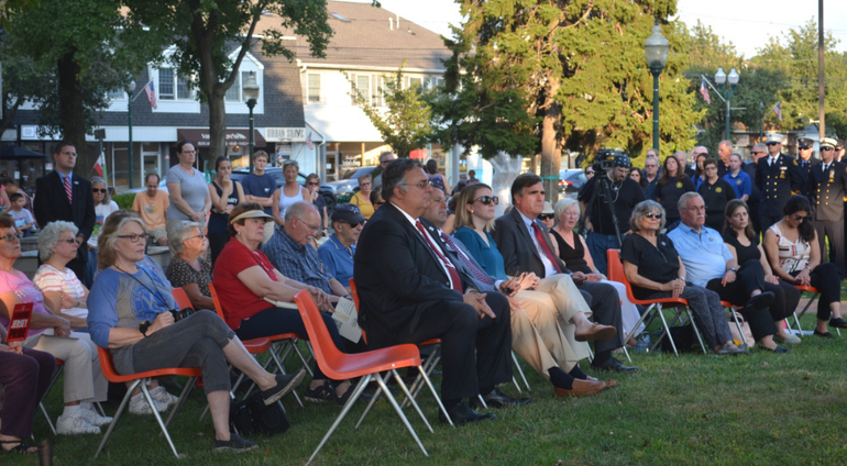 Officials and residents of Scotch Plains gather for 9/11 ceremonies