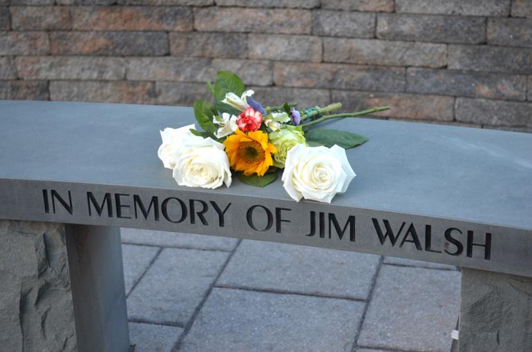 Memorial for Scotch Plains resident Jim Walsh