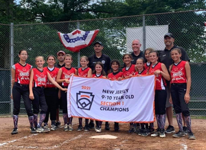 Hanover's Girls' Little League Team Wins New Jersey Section 1 Championship