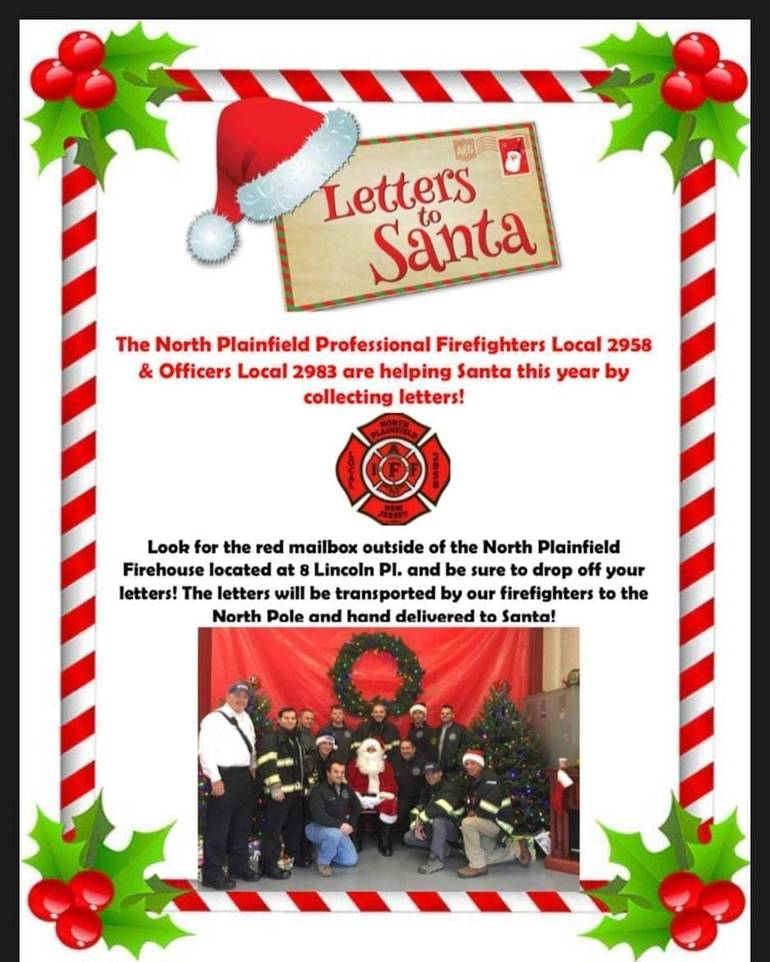 Santa Claus Approves North Plainfield to Collect Letters to Santa 2020 -  TAPinto