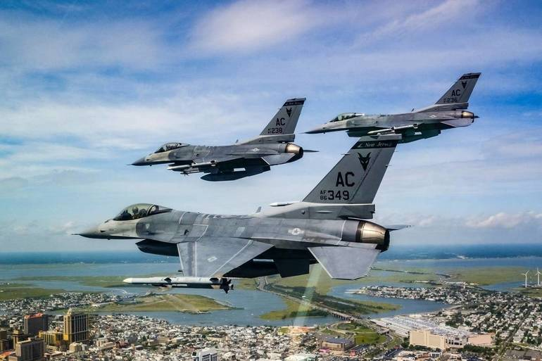 May 12th New Jersey Air National Guard conducting flyover to honor #COVID19 front line workers, flight path includes PNC Bank Arts Center