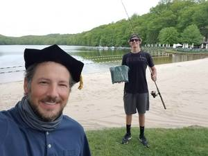 Montville Township High School Faculty Deliver Caps and Gowns