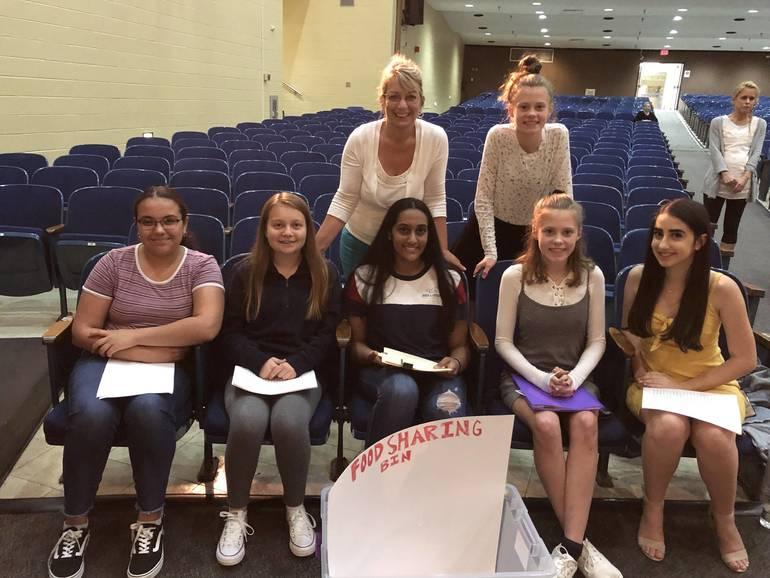 9th Grade Speakers w Rispoli.JPG
