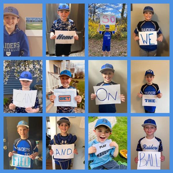 Scotch Plains-Fanwood Baseball League's 9U Travel Team's Coronavirus PSA