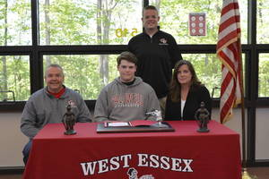 West Essex Baseball Player Liam James Makes College Commitment