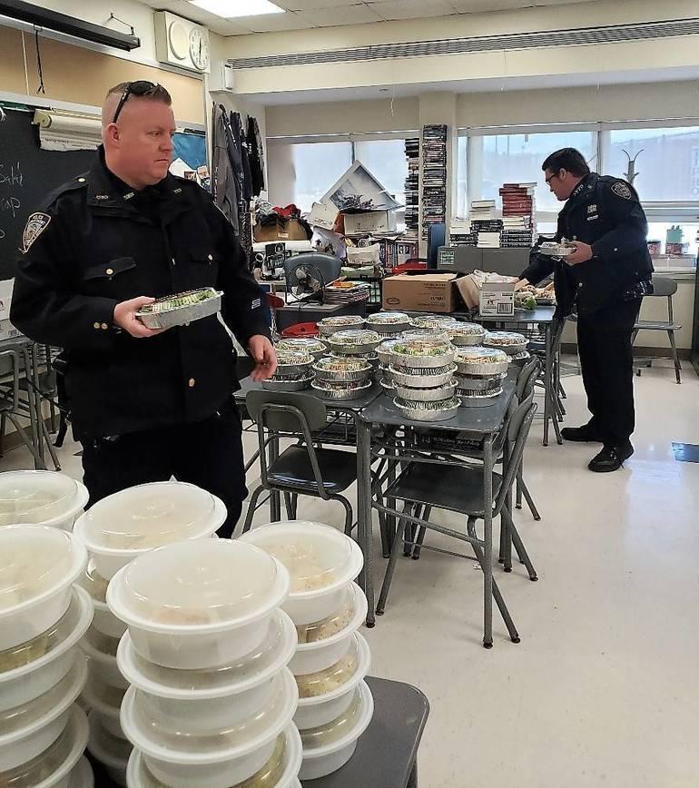 Generosity of Local Restaurants Keeps First Responders Well-Fed