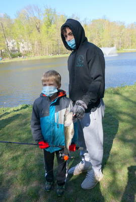 Montville Residents Hooked on Fishing Derby