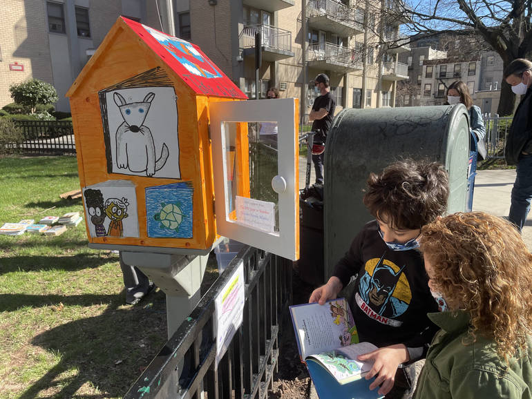 Little Free Libraries 'Elevating Literary Experience' in Hoboken
