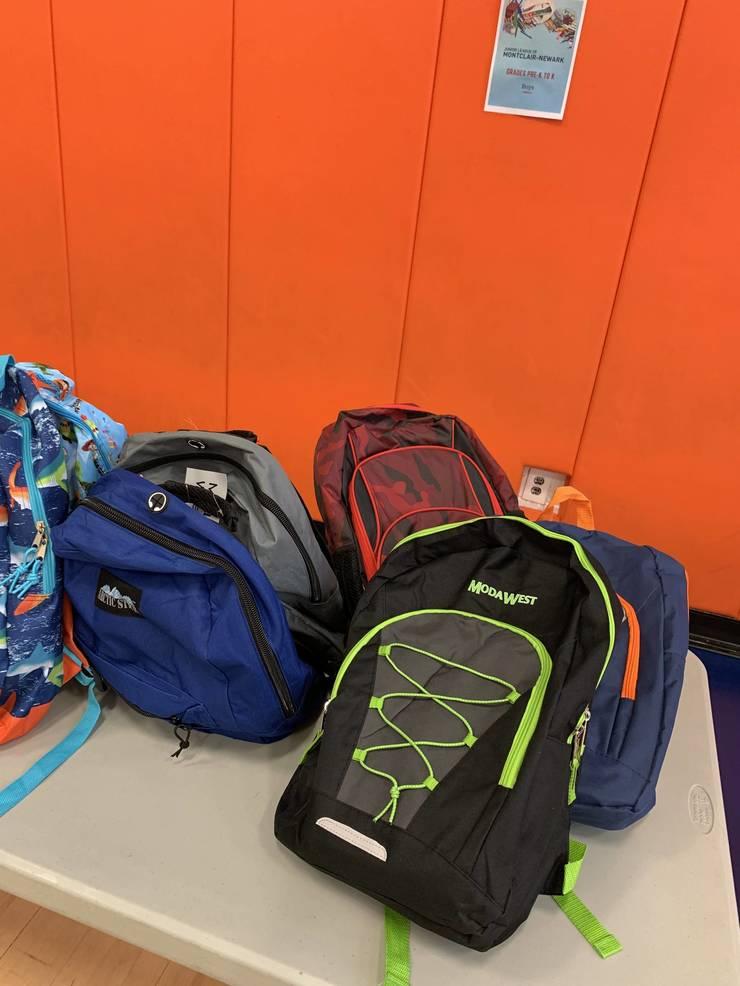 Backpacks for grades pre-K through kindergarten