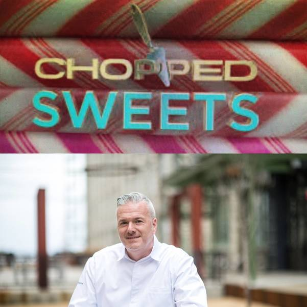 Chef Joe Murphy of Scotch Plains won the Chopped Sweets competition