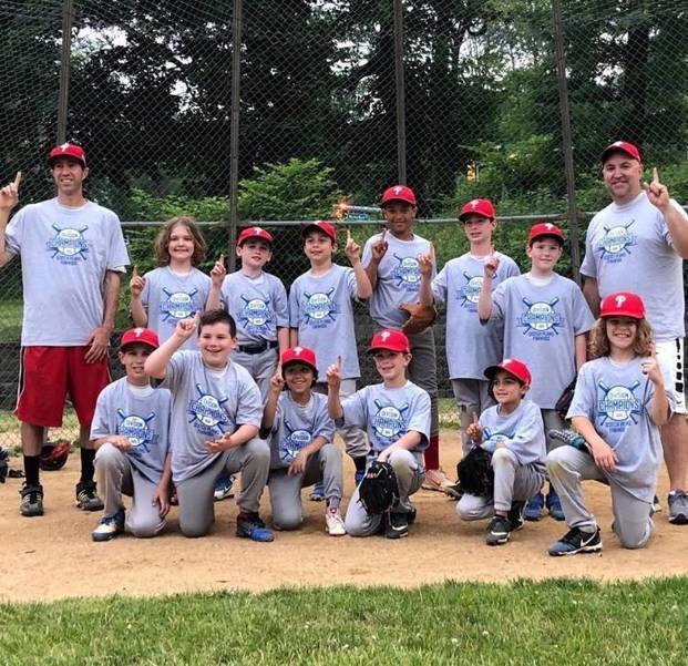 Phillies win Scotch Plains-Fanwood Baseball League AAA Division championship